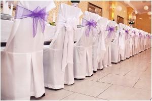 przystrojona sala weselna