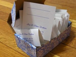 wizytówki z imionami dla gości
